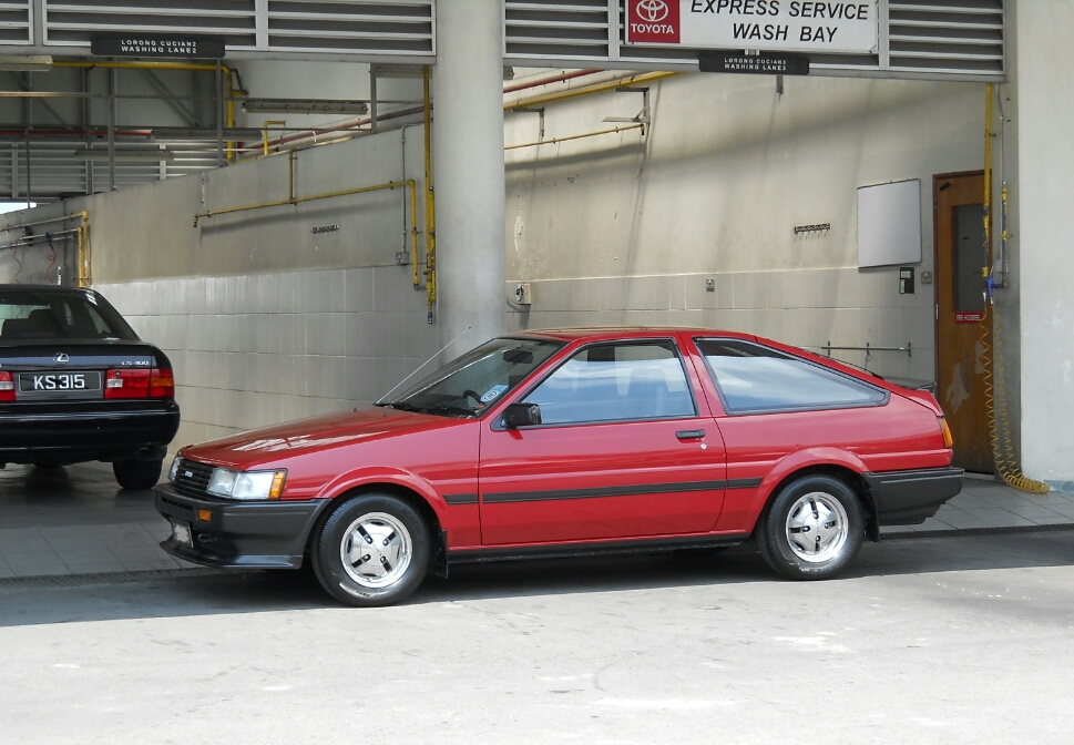 AE86 owner from Brunei