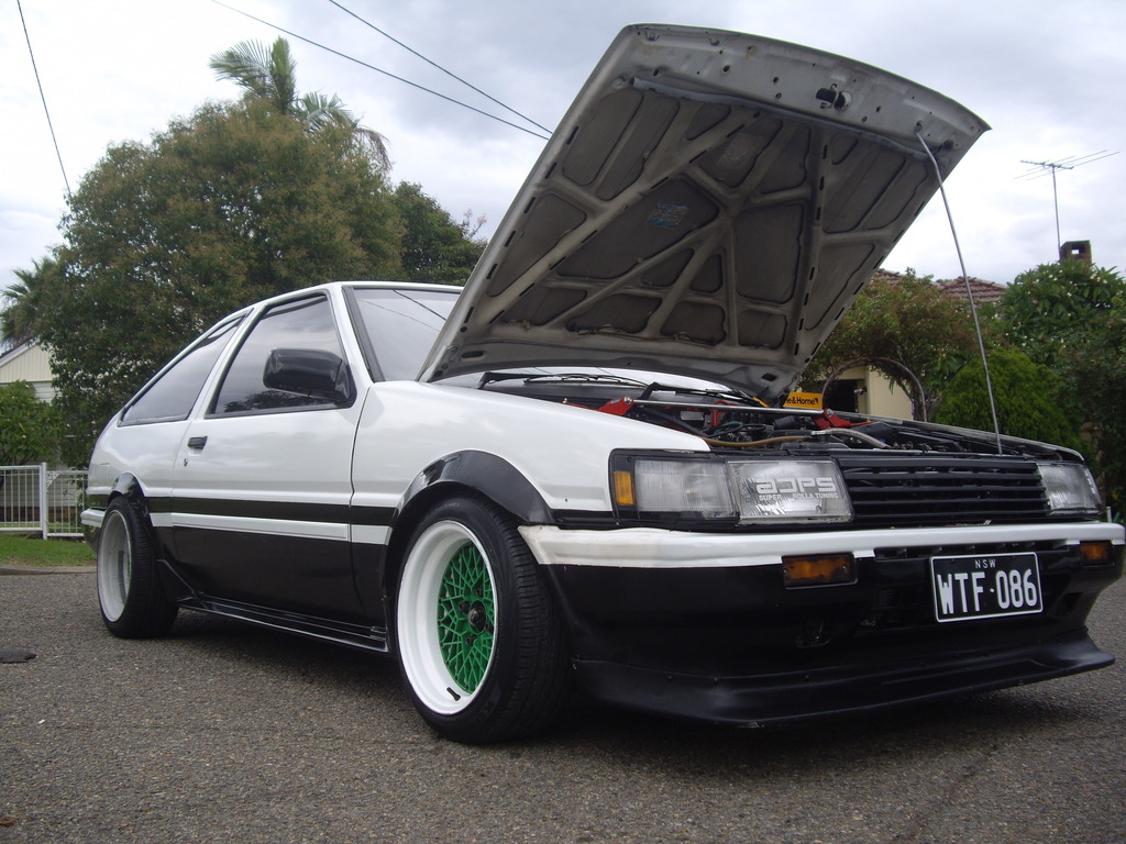Nick's Second time round, Notch back AE86