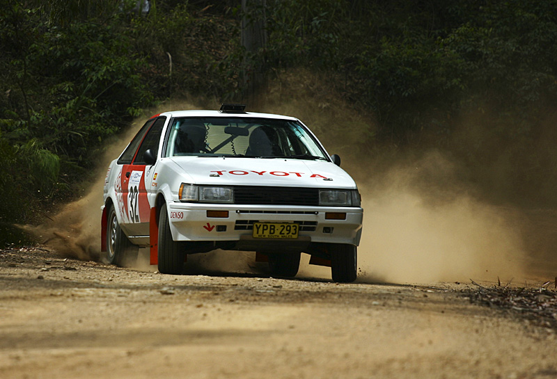 Group A AE86 Coupe