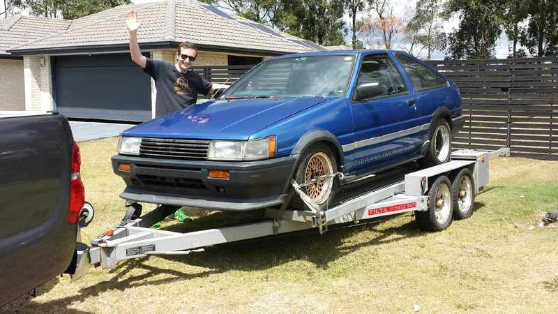 Andy's First AE86 - it's JDM yo!