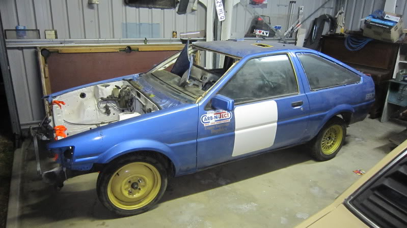 Bob the rally Trueno