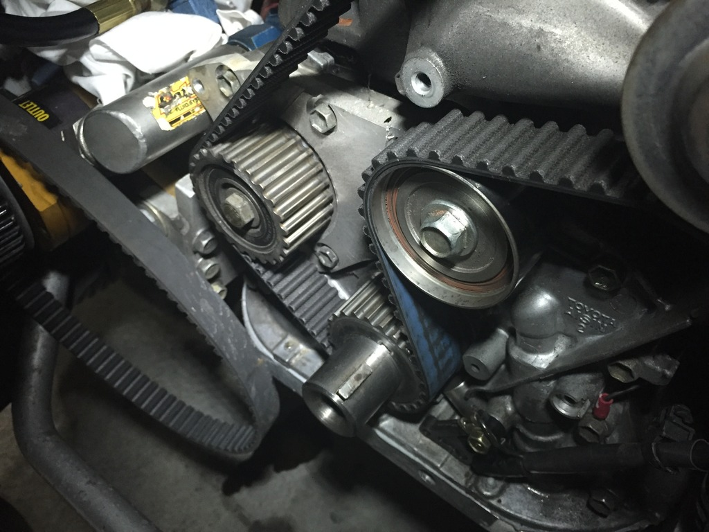 Marks 3sgte 400 Kw Ae86 Track Car Page 49 Timing Belt Tensioner This Making It Simple And Able To Retain The Full Factory Idler Setup