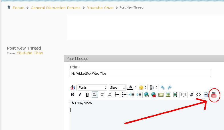 How to embed youtube videos into ae86dc posts for Embed a forum into your website