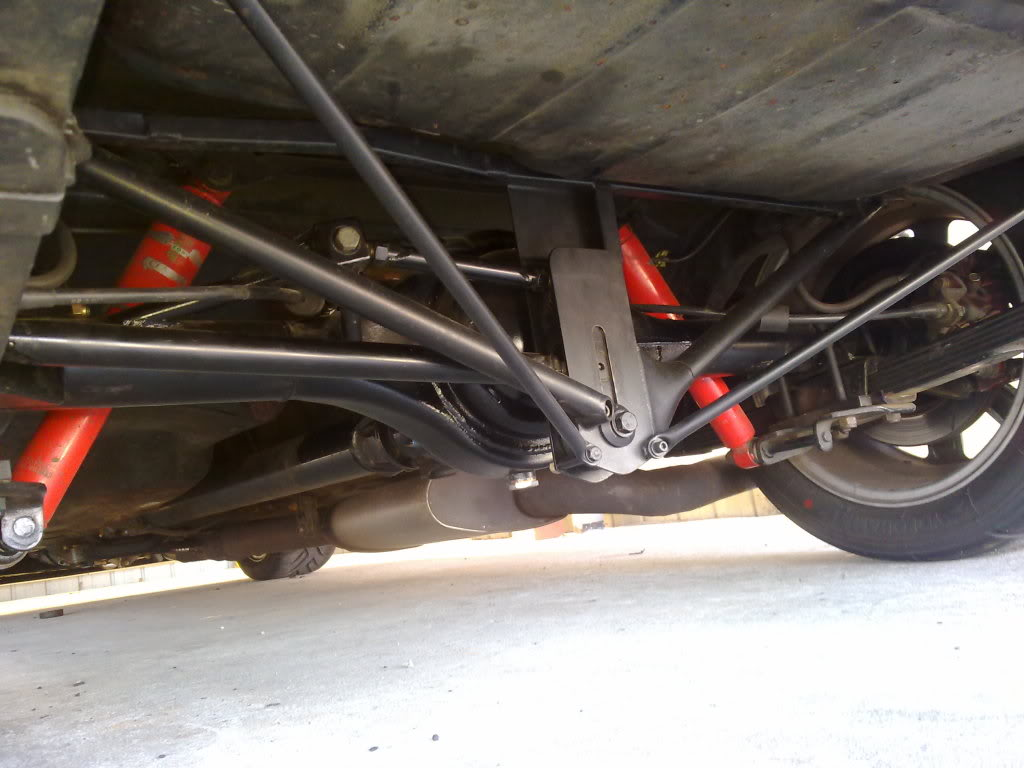 escort 5 link rear suspension